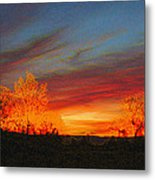 Morning's Magical Light Metal Print