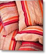 Moroccan Cushions Metal Print