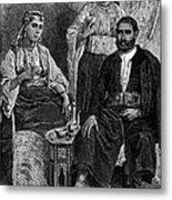 Moroccan Jews, C1892 Metal Print