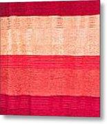 Moroccan Textile Metal Print