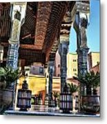 Morocco Architecture II Metal Print
