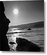 Morro Bay Shoreline Iv Metal Print