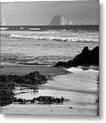Morro Bay Shoreline V Metal Print