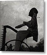 Mortality Road Metal Print