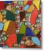 Mosaic Art 1 Metal Print