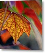 Mosaic Autumn Metal Print