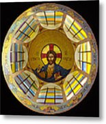 Mosaic Christ Metal Print