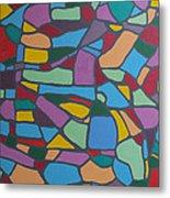 Mosaic Journey Metal Print