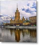 Moscow View  Metal Print