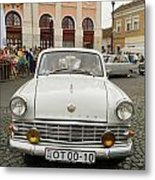 Moscvich Old Car Metal Print