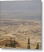 Moses First Saw The The Holy Land Metal Print