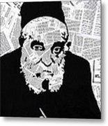 Moshe Feinstein Metal Print by Anshie Kagan