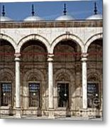 Mosque Of Muhammad Ali In Cairo Metal Print