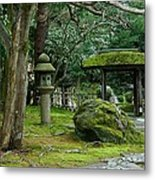 Moss Covered Garden Metal Print