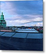 Mother Svea Gotheburg Metal Print