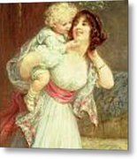 Mothers Darling Metal Print