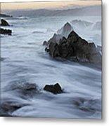 Motion Ocean Metal Print