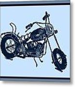 Motorbike 1a Metal Print