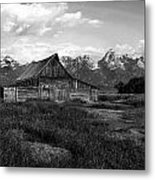 Moulton Barn Metal Print