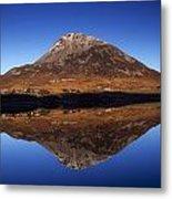 Mount Errigal, Lough Nacung, Dunlewy Metal Print