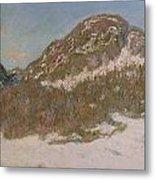 Mount Kolsaas In Sunlight Metal Print