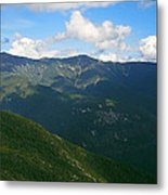 Mount Lafayette From Top Of Cannon Mountain Metal Print