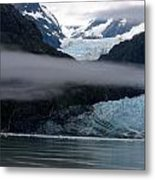 Mount Margerie At Glacier Bay Alaska Usa Metal Print