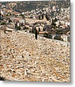 Mount Of Olives Metal Print