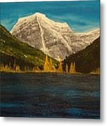 Mount Robson Alberta Metal Print