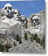 Mount Rushmore Vertical Metal Print