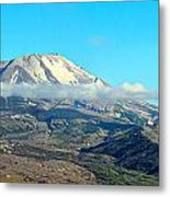 Mount St Helens And Castle Lake Metal Print