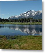 Mount Tallac View Of The Cross Metal Print