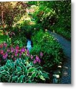 Mount Usher Gardens, Co Wicklow Metal Print