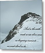 Mount Washington Climb Metal Print