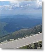 Mount Washington New Hampshire Auto Road Views Metal Print
