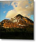 Mountain In The Morning Metal Print