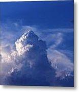 Mountain In The Sky Metal Print