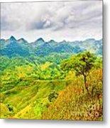 Mountain Landscape Metal Print