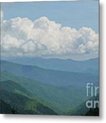 Mountain Magnificence Metal Print