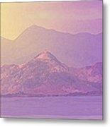 Mountain Morning Sunrise Metal Print