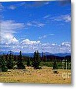 Mountain Top Landscape II Metal Print
