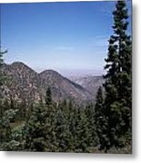 Mountain View Metal Print by Steve Huang