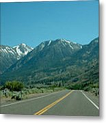 Mountains Ahead Metal Print
