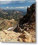Mountains At Lassen Metal Print