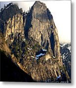Mountains Of Yosemite . 7d6167 . Vertical Cut Metal Print