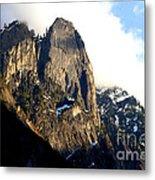 Mountains Of Yosemite . 7d6167 Metal Print