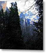 Mountains Of Yosemite . 7d6214 Metal Print