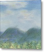 Mountains Over Lennox Metal Print by Denny Morreale