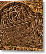 Mountfort - Granary Burying Ground - Greeting Card Metal Print