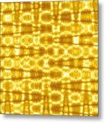 Moveonart Goldenblanket Metal Print